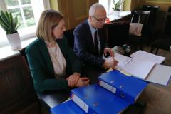 Podpisanie partnerskiego wniosku o dofinansowanie 6