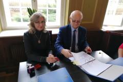 Podpisanie partnerskiego wniosku o dofinansowanie 8