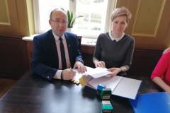 Podpisanie partnerskiego wniosku o dofinansowanie 9