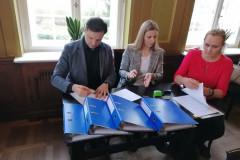 Podpisanie partnerskiego wniosku o dofinansowanie 10