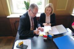 Podpisanie partnerskiego wniosku o dofinansowanie 11
