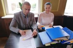 Podpisanie partnerskiego wniosku o dofinansowanie 13