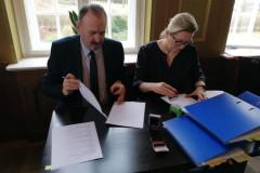 Podpisanie partnerskiego wniosku o dofinansowanie 15