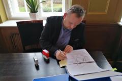 Podpisanie partnerskiego wniosku o dofinansowanie 14