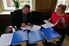 Podpisanie partnerskiego wniosku o dofinansowanie 16